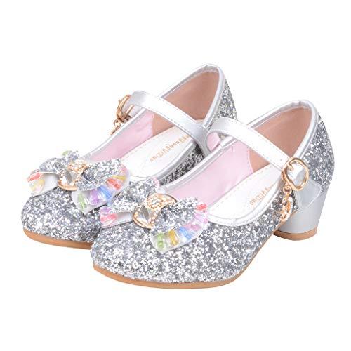 �Dchen, Baby Mädchen Perlen Kristall Bling Bowknot einzelne Sandalen, Kinder Party Casual Schuhe ()