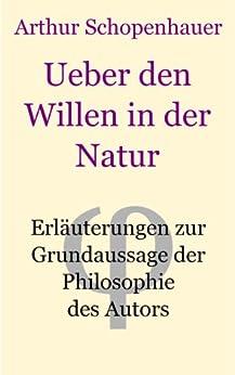 Ueber den Willen in der Natur von [Schopenhauer, Arthur]