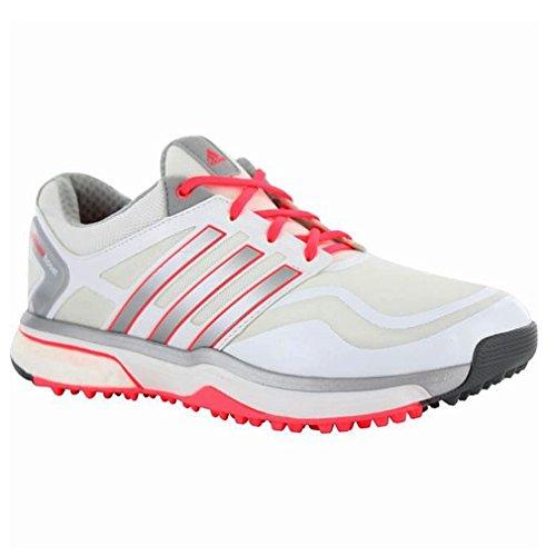 adidas Ladies White/Silver 5 Regular Fit