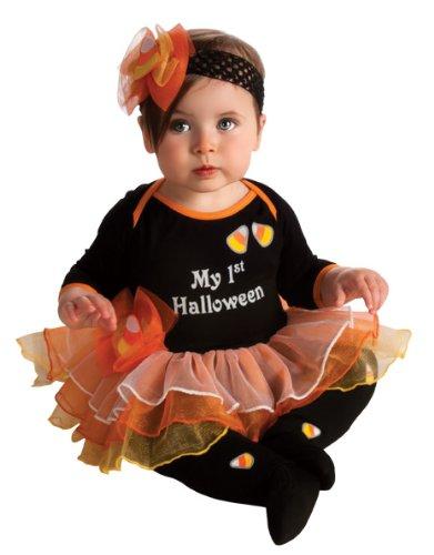 andy Corn Tutu Onesie Costume Infant (Candy Corn Baby Kostüme)