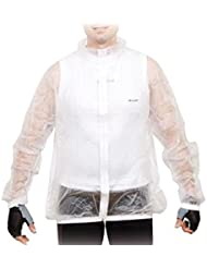 Massi 38099 - Impermeable unisex, color transparente, talla XL