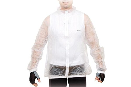 MASSI 38098   IMPERMEABLE UNISEX  COLOR TRANSPARENTE  TALLA L