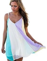 77ac5a5ef0ba Amazon.co.uk  Multicolour - Cover-Ups   Sarongs   Swimwear  Clothing
