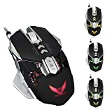 BSDK Gaming-Maus, mechanische Maus verkabelt, vollständige Makrodefinition, freie Einstellung Plus...
