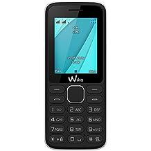 Wiko Lubi 4 Blister Téléphone portable débloqué 2G (Ecran: 1,7 pouces - 64 Mo - Double SIM) Noir/Blanc