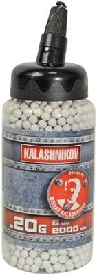 2000 bbs Kalashnikov - Biberón - 6 mm 0,20gr.