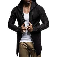 fce38c6ad682 LEIF NELSON Herren Pullover Kapuzenpullover Hoodie Sweatjacke Jacke Basic  Langarm Oversize Shirt Sweater LN6301