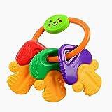 Beito Ice Gel Beißring Keys, großer Baby-Nahrungsmittelzufuhr-Beißring, Säuglingsernährung, Babygreiflinge - BPA frei natürlicher organischer Gefiermaschinefest Beißring Set