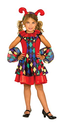 Rubie's Costume Jester Dress Deluxe Child Costume, Large by Rubie's Costume Co