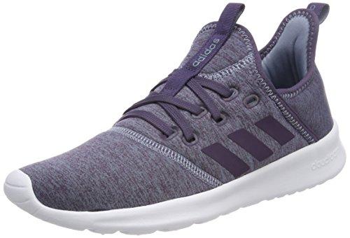adidas Damen Cloudfoam Pure W DB1323 Fitnessschuhe, Braun (Raw Grey S18/trace Purple S18/ftwr Wht), 38 2/3 EU