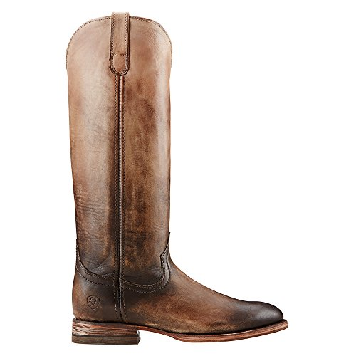 Ariat Ombre Roper Cuir Santiags Chocolat