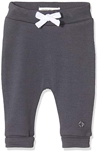 Noppies Unisex Baby U Pants Jrsy Comfort Bowie Hose, Grau (Charcoal C271), (Herstellergröße: 74)