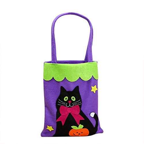 Halloween-Symbol Geschenke Kürbis Fledermaus Gespenster Trick oder Behandlung der Tasche Halloween Geschenk für Kinder