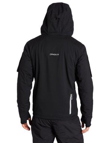 Spyder Herren Jacke Orbiter schwarz/silber