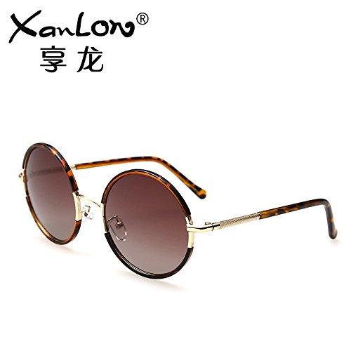 Komny Sonnenbrillen Sonnenbrillen Sonnenbrillen Sonnenbrillen Sonnenbrillen von Frauen weibliche Sonnenbrille und Sonnenbrille Tortoise Shell Progressive Kaffee Tabletten