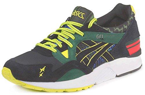 Holgura Con Mastercard Comprar Barato Para Barato Asics Onitsuka Tiger Gel Lyte 5 V H50BK-8090 Sneaker Shoes Schuhe Mens Green/Black Lugares Baratos Venta De Salida wMM5ks0