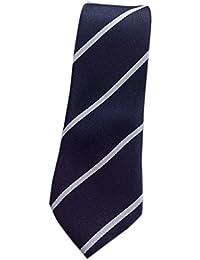 Blacksmithh Affordable Navy Blue Formal Tie