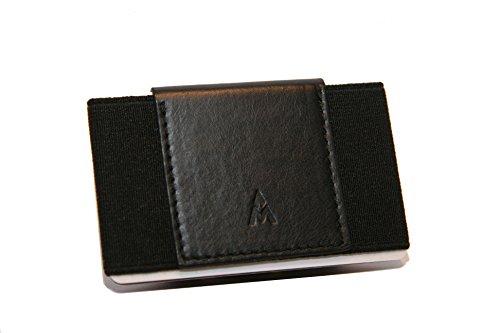 Kleine, schmale Herren Geldbörse von alejandro mulero - mr. slimfit - dünnes Portemonnaie, Kreditkartenetui, slim Wallet
