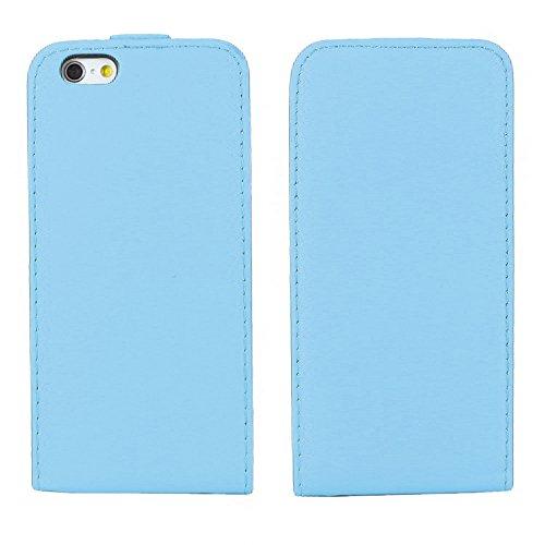 """ebestStar - pour Apple iPhone 6S 6 écran 4.7"""" - Housse Coque Etui à rabat PU cuir ULTRA FIN (ultra slim case) + Stylet tactile + 3 Films protection écran, Couleur Rouge [Dimensions PRECISES de votre a Bleu"""