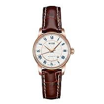 Mido Damen-Armbanduhr XS Baroncelli Analog Automatik Leder M76002218