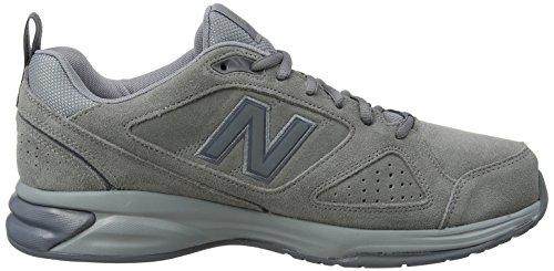New Balance Mx624v4, Chaussures de Fitness Homme Gris (Gunmetal)