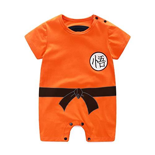 Neugeborene Wukong Overalls Baby Schöne Kurzarm-Cartoon-Spielanzug-Baby-Kleidung