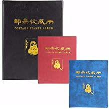 ZJL220 Varios tamaños Colección Sellos de Correos Álbum Almacenamiento Papel Moneda ...