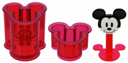 Mold Mouse Mickey (Skater Mickey Mouse Shape Sushi Rice Press Molds (LDO1))