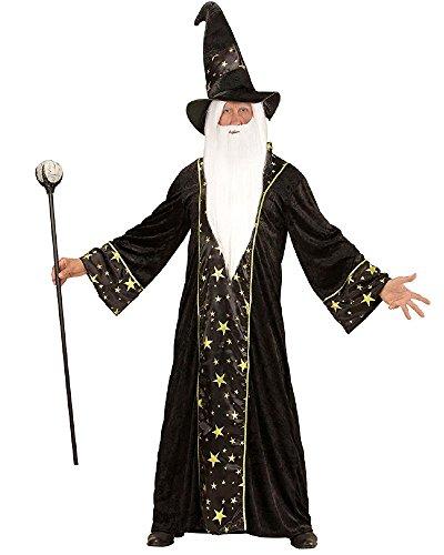WIDMANN wdm15222–Kostüm Zauberer Fantasy, schwarz, ()