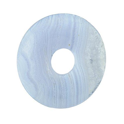Donut Chalcedon blau (30mm)