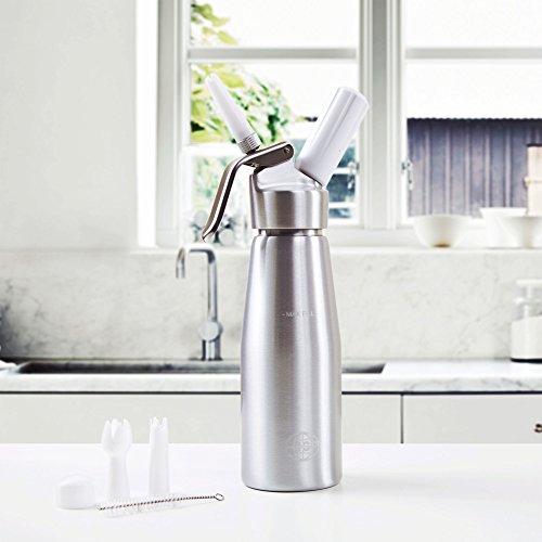 comprare on line Impeccable Culinary Objects (ICO) ICO 500ml Alluminio Sifone per Spume/Dosatori Panna e Creme Calde o Fredde prezzo