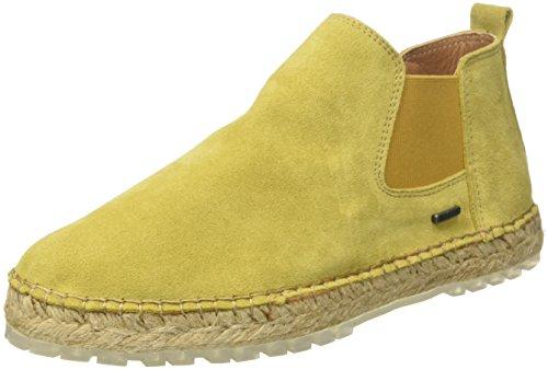 Shabbies Amsterdam Damen Shabbies Ankle Boot Espadrilles, Gelb (Dark Mustard Yellow), 42 EU