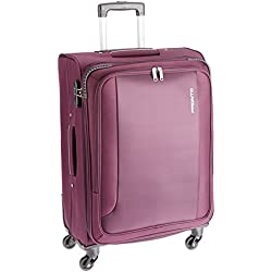 PRONTO SPACE + Polyester 67 cms Purple Soft Sided Suitcase (6505 - PP)