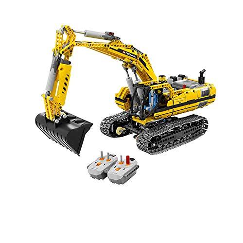 Aiya 1123pcs Kinderbildungswissenschaften Montage und Montage von Jungen und Mädchen Bausteine Spielzeug Fernbedienung Excavator Modell Bausteine Ziegel kompatibles Spielzeug Geschenk