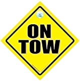 On Tow, On Tow Sign, On Tow Car Sign, Towing Sign, On Tow Sign, Car Sign, Bumper Sticker, Baby on Board, Driving Sign, Automobile Sign, Vehicle Sign, Car Safety Sign, Warning Sign, Caravan, Towing, Breakdown Sign, Decal, Bumper Sticker, Caravan Sign, Bumper Sticker Sign Style