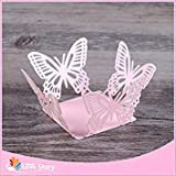 50pcs Laser Cut erfly Chocolate Bar Chocolate Wrappers Birthday Party Decoration Kids Wedding Decoration