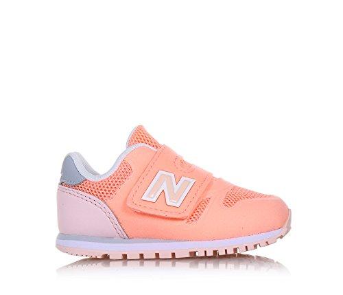 New Balance KA373CRI Sneakers Fille Microfibre Rose Rose