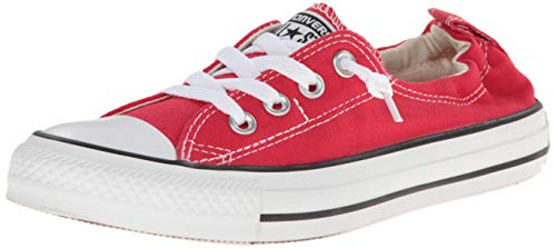 Converse Womens Chuck Taylor Shoreline Slip Varsity Red Canvas Trainers 39 EU Red Converse Chuck Taylor