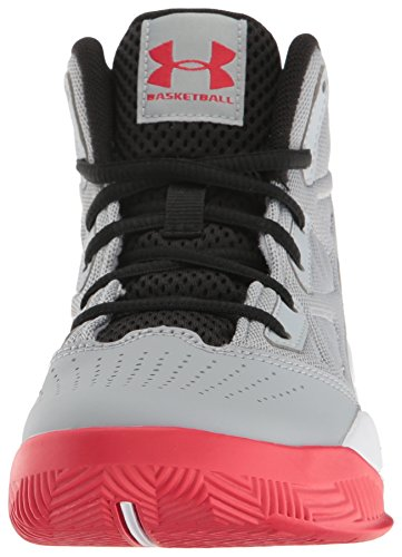 Under Armour Ua Bgs Jet Mid, Chaussures de Basketball Garçon Gris (Overcast Gray 941)