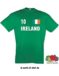 world-of-shirt Herren T-Shirt Irland / Ireland im Trikot Look