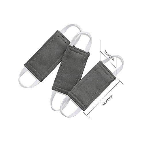 circulor 3 Pcs Klemmschutz Tür Karte, Türstopper, Türstopper, Sicherung Für Babys, Mitwachsend Sicherheit -