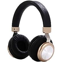 Qoosea Auriculares Bluetooth Auriculares Estéreo Inalámbricos Sobre El Oído para Auriculares Micrófono Cancelación Ruido para Llamadas