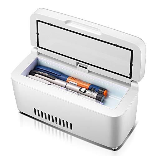Insulin-Kühlbox tragbarer Interferon-Impfstoff-Kühlbox mit kleinem Kühlschrank mit Temperaturanzeige