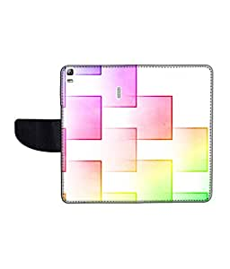 KolorEdge Printed Flip Cover For Lenovo A7000 Multicolor - (55KeMLogo11770LenovoA7000)