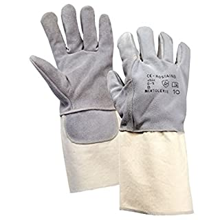 Rostaing New Tolerie Heavy Duty Cut Resistant Level 5 Gloves with Dyneema Lining and Premium Leather All Sizes M L XL XXL