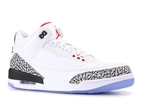 Jordan Air 10 3 Size (Nike Air Jordan 3 Retro NRG 'Free Throw Line' - 923096-101 - Size - 10 -)