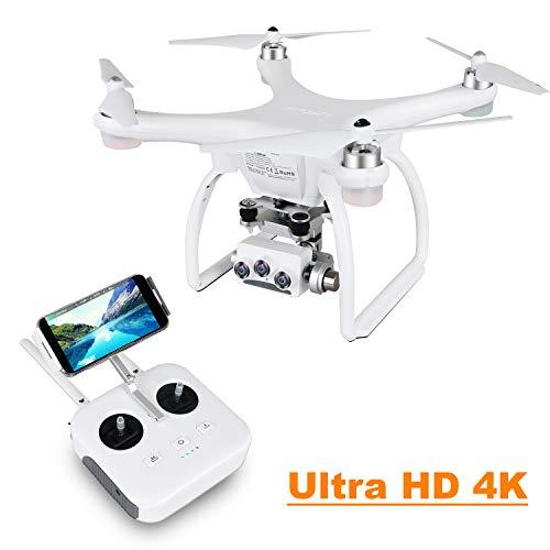 UPAIR Two dron cuadricóptero cámara 3D 4K 2.4G Control