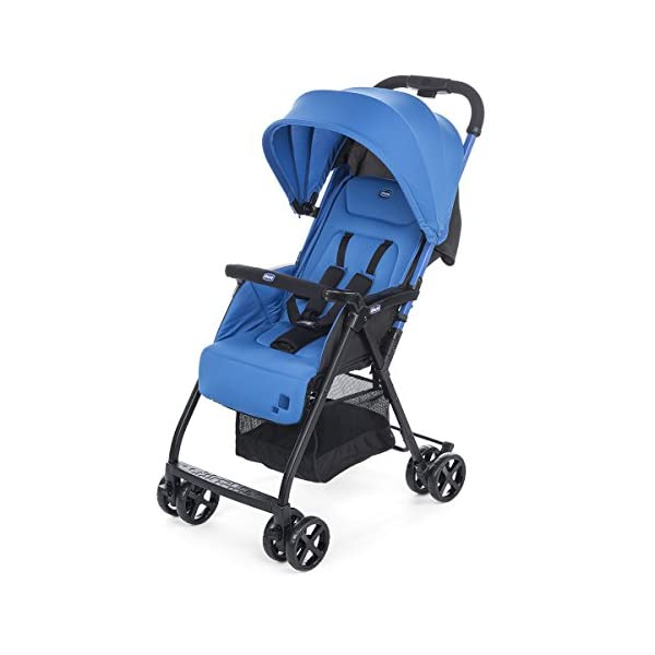 chilj| # Chicco Chicco Ohlala-Buggy Lightweight and Compact, 3.8kg, Blue (Power Blue)-Buggy Ultra-Compact, colorpower Blue Chicco  1
