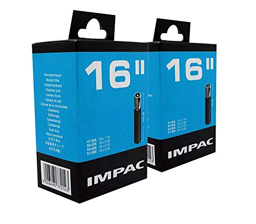 Impac 2 Paquete Cycle Tubos 16