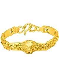 Voylla Strand Bracelet for Men (Golden)(8907617387161)